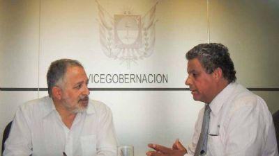 Solá Jais con el intendente Gómez