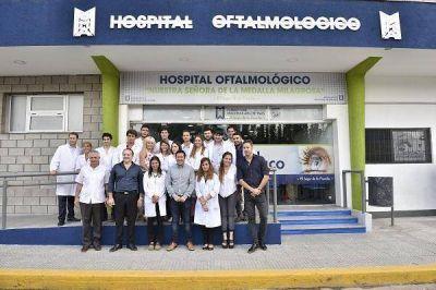 Nardini presentó el renovado Hospital Oftalmológico Municipal