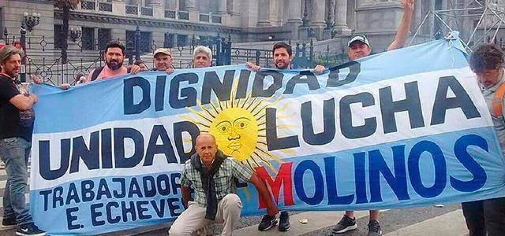 Molinos se niega a reincorporar a los despedidos en Echeverría