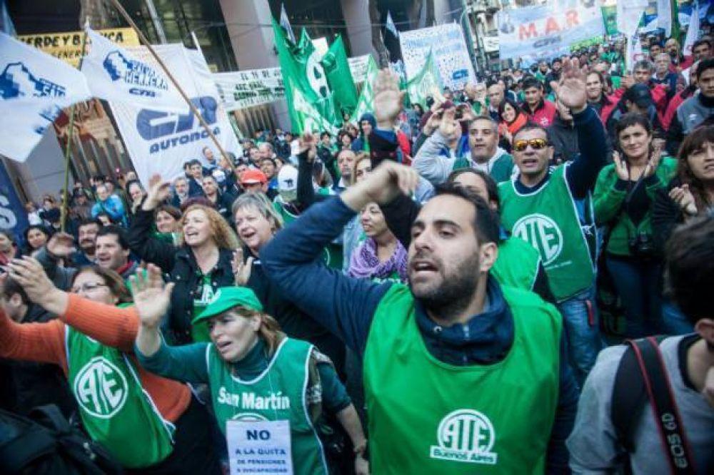 Estatales lanzaron jornadas de protesta para hoy y mañana