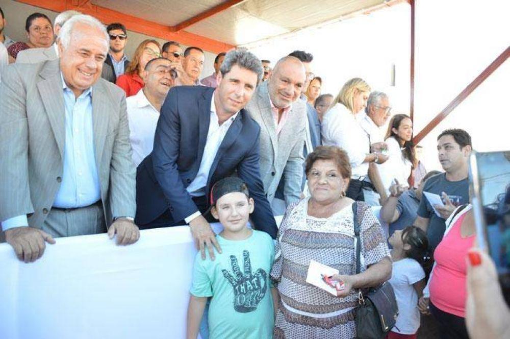 El gobierno provincial entregó 64 viviendas en Caucete