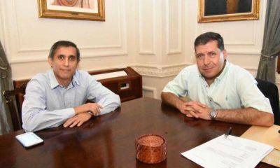 Casas y Paredes prometieron 'encauzar' el diálogo institucional
