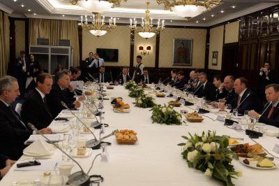Bordet expuso ante empresarios rusos sobre las potencialidades de Entre Ríos