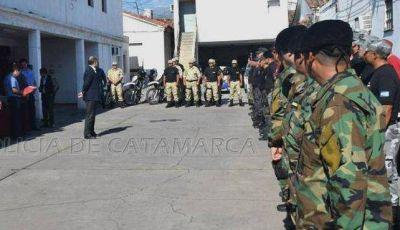 Entregaron uniformes a  grupos especiales de la Policía de Catamarca