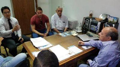 Autoridades de la comuna se reunieron con los taxistas de la ciudad