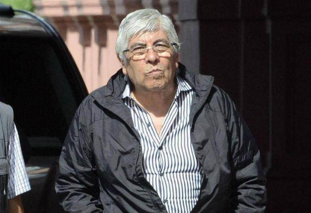 Hugo Moyano abre la temporada de paritarias con una jornada de protesta
