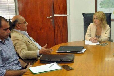 El Gobierno provincial trabaja junto a APROFICSA por los productores de San Martín