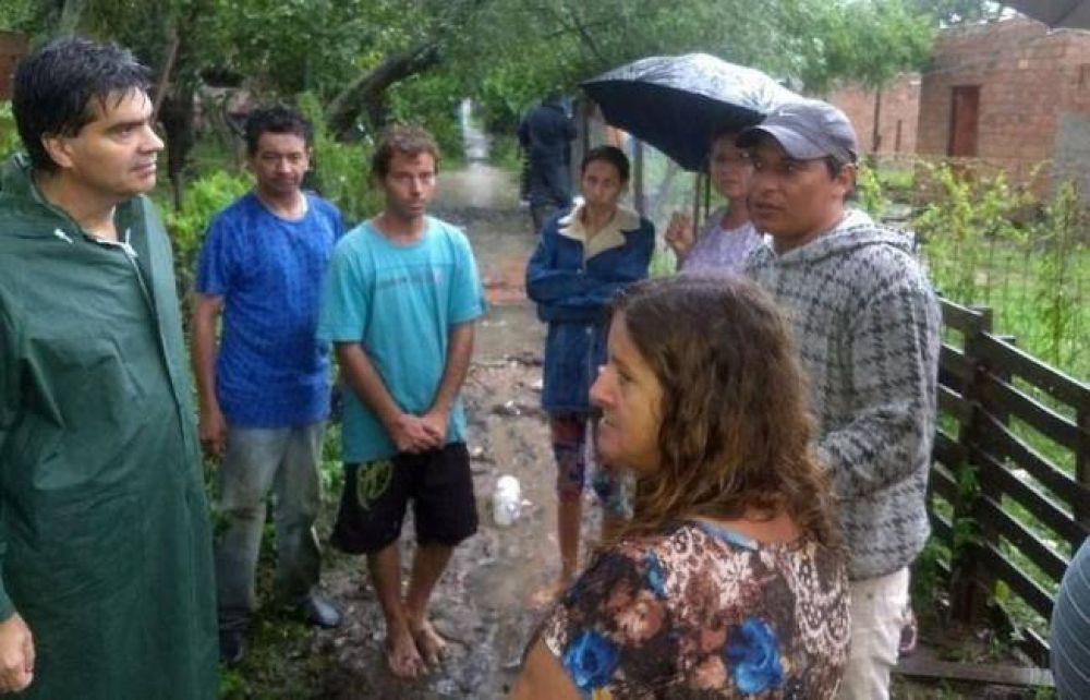 Capitanich analiza financiamiento para obras del plan hídrico