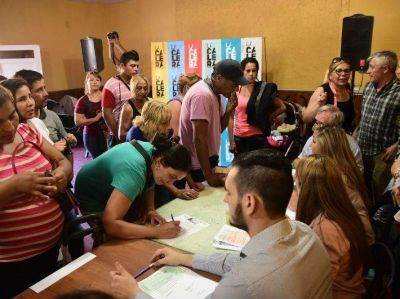 Ayudan con más de $6 millones a familias damnificadas por un temporal en Córdoba