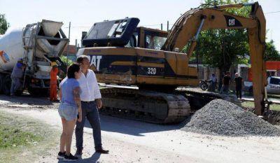 Nuevas obras de asfalto en Claypole y Don Orione