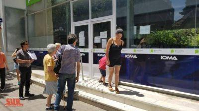 """IOMA Quilmes no atiende desde el lunes """"por falta de luz"""""""