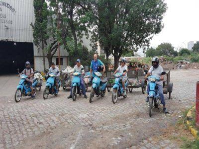 En Lomas, los recicladores urbanos tienen un nuevo cronograma de recolección