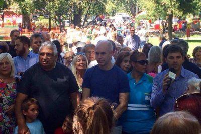 Comuna 11: el Gobierno porteño reinauguró la plaza Arenales de Villa Devoto