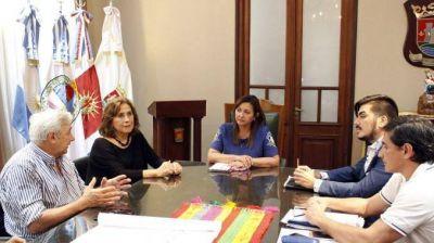 La Intendente Fuentes y la Ministra de Salud acordaron la implementación de la Historia Clínica Única y Digital en los Caps