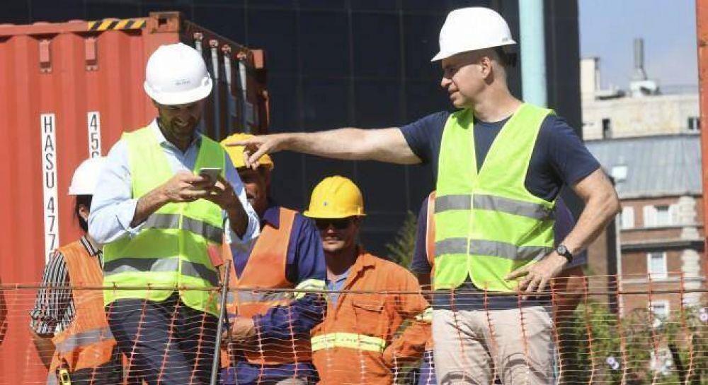 Los sindicatos presionan a Dietrich por la concesión del Puerto