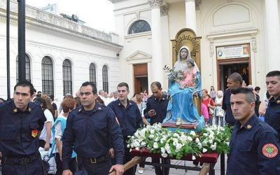 La Diócesis lomense celebró su fiesta patronal