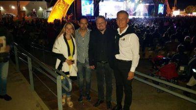 Avilés en Cosquín: «El éxito turístico se debe al trabajo con la Provincia y la región»