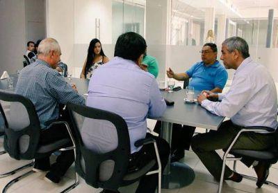 Ferraresi se reunió con representantes de municipios latinoamericanos