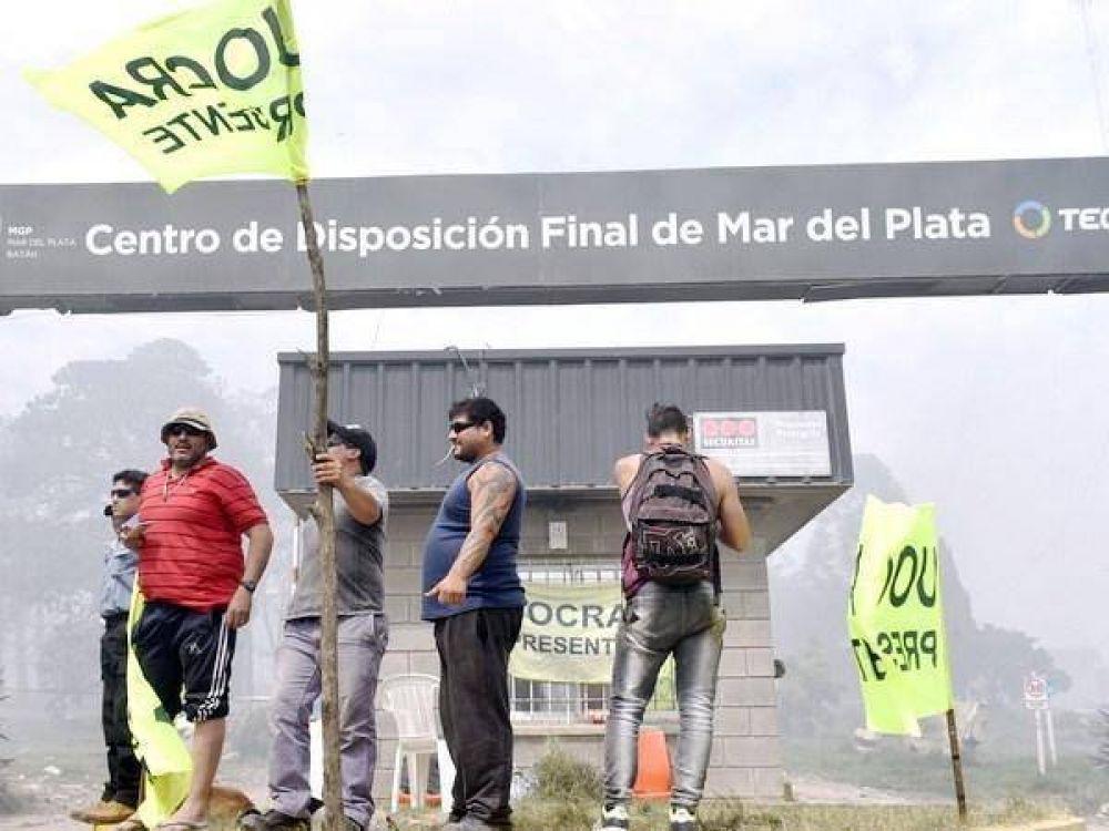 """Basural: La UOCRA alerta que se está yendo """"derecho a un nuevo conflicto"""""""