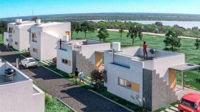 Lanzan un plan de viviendas frente al Paraná en cuotas