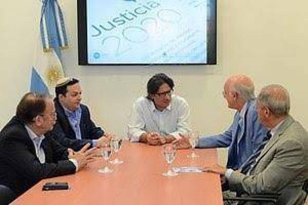 La DAIA se reunió con Germán Garavano