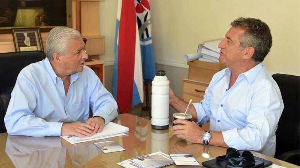 Urribarri y Lauritto coinciden en la fuerza de la unidad del peronismo provincial
