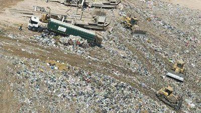 La Ciudad aumentó el entierro de basura en el relleno sanitario tras cinco años de caída