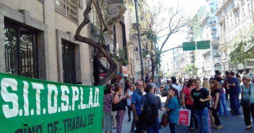 Trabajadores de Osplad piden que el Soeme de Balcedo no les descuente más de sus salarios
