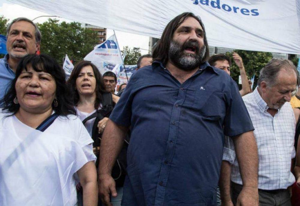 """Problema en puerta: Baradel insiste en denunciar """"ensañamiento con los trabajadores"""""""