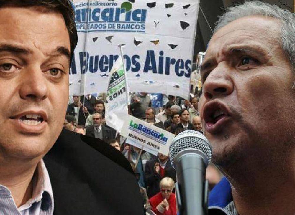 Se agudiza el enfrentamiento entre el Gobierno y La Bancaria: el Ministerio de Trabajo recortó aportes al gremio