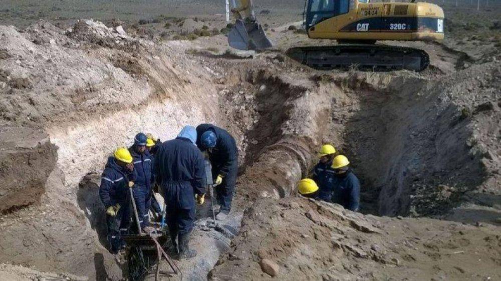 Diputados provinciales piden la finalización de la obra de repotenciación del acueducto
