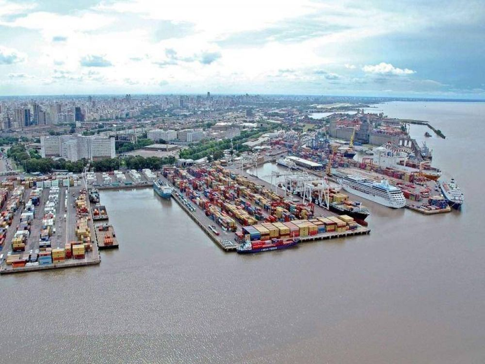 Por obras de modernización en el puerto de Buenos Aires, crece la incertidumbre en los trabajadores