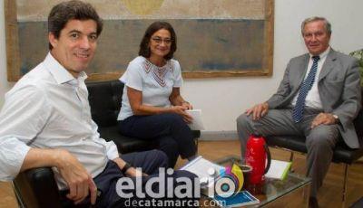 La Nación comprometió obras hídricas por más de 127 millones para Catamarca