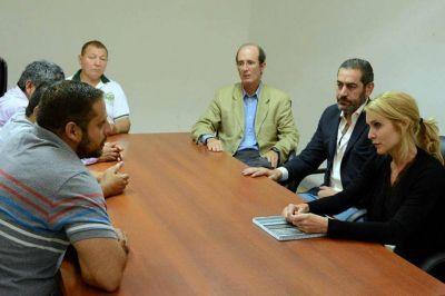 Bibini se reunió con trabajadores del Ingenio San Isidro