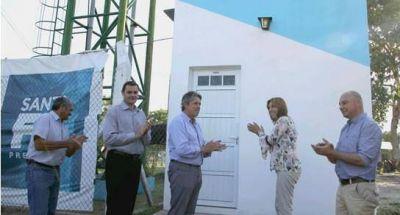 La Provincia inauguró una nueva planta de ósmosis inversa