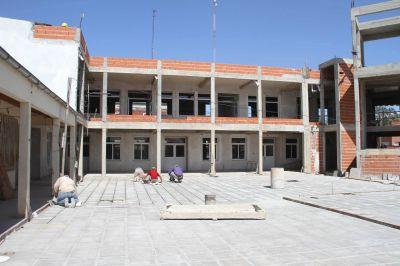 Se reparan escuelas durante las vacaciones para el inicio del ciclo lectivo
