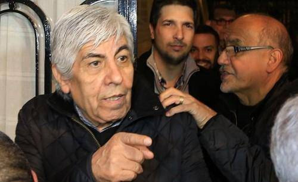 Hugo Moyano convocó a movilizar: