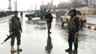 Nueve personas murieron en el atentado contra una unidad del ejército en Kabul
