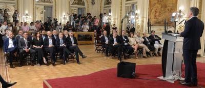 Triaca, el gran ausente del anuncio de Macri