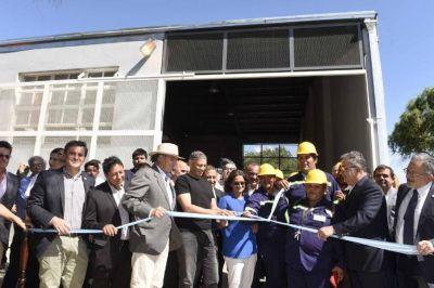Inauguraron mejoras en la planta de tratamiento de residuos
