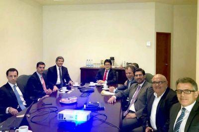 Urtubey se reunió en Perú con el Directorio del Grupo Gloria