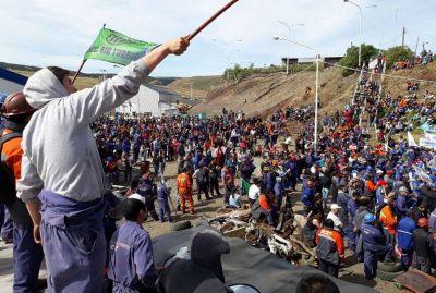 Tensión por el ajuste en Río Turbio