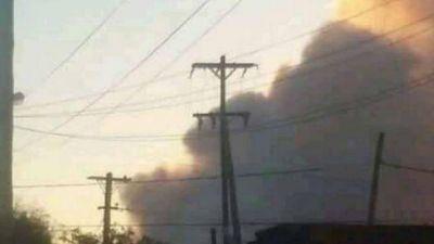 Volvió a arder el CEAMSE de Catán y la columna de humo se vio en gran parte de zona sur