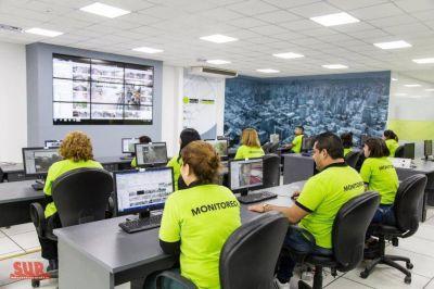 Centro Único de Monitoreo: Aseguran que se potencia el trabajo en seguridad
