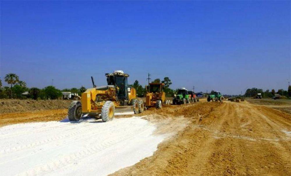 Cruces en la provincia por la construcción de una autopista en la Ruta Nacional 11