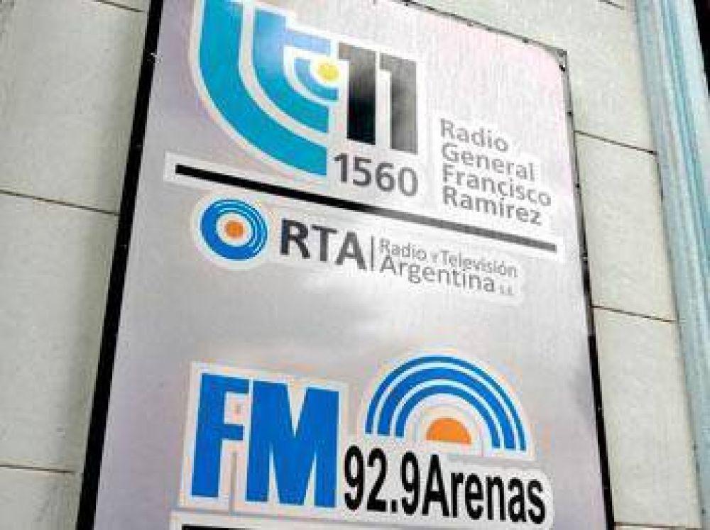 """Agmer expresó su """"solidaridad"""" con el reclamo de los trabajadores de LT11 de Concepción del Uruguay"""