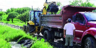 La Municipalidad continuará con los trabajos en cámaras, canales y desagües