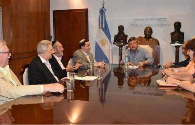 Peppo ratificó trabajo conjunto con autoridades de la DAIA