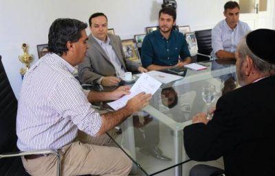 Capitanich y el titular de la DAIA trabajarán contra la discriminación