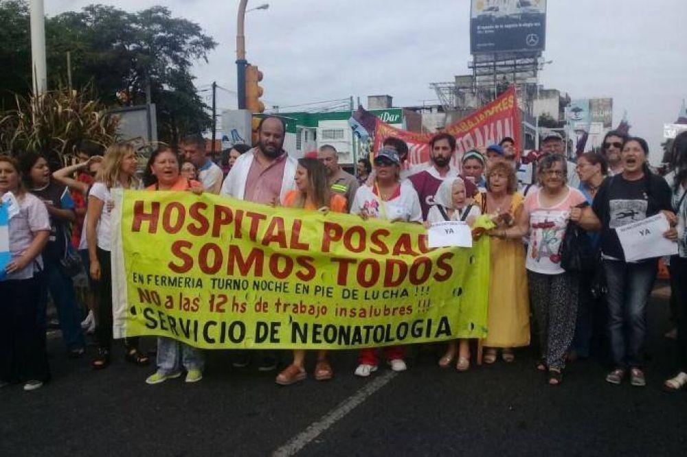 Hospital Posadas: Médicos van al paro y marcharán hacia el Ministerio de Salud